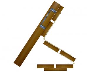 Песочница с крышкой-скамейкой