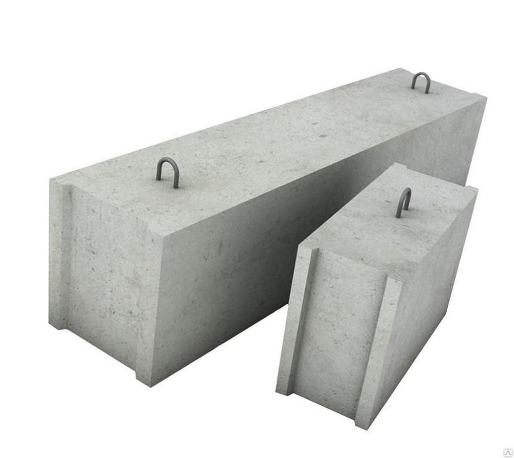 Фундаментный доборный блок ФБС для бани
