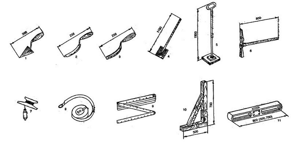 Инструменты, которые понадобятся при строительстве фундамента для бани