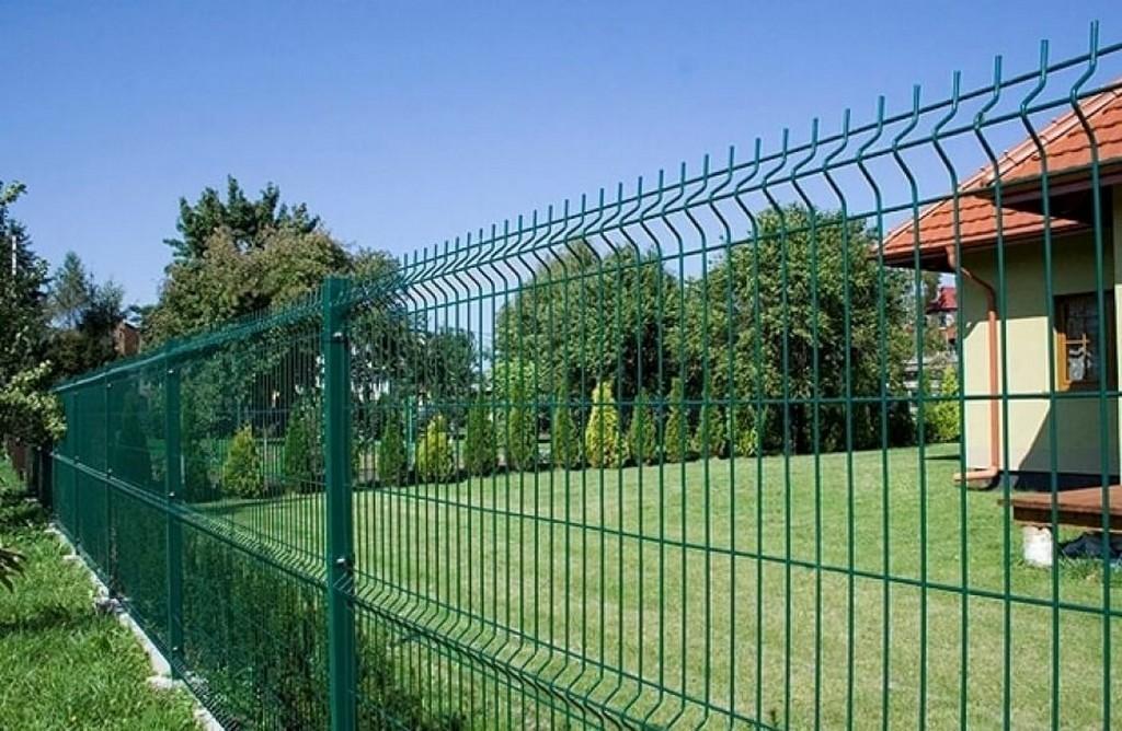Ограда с использованием 3D-секций