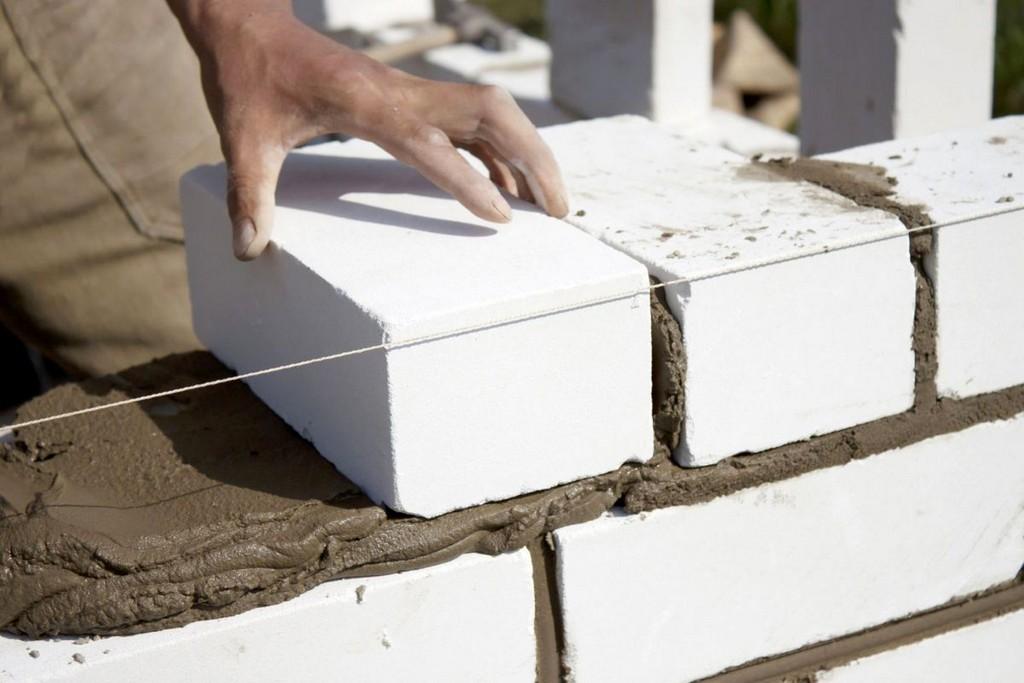 Особенности кладки белого силикатного кирпича