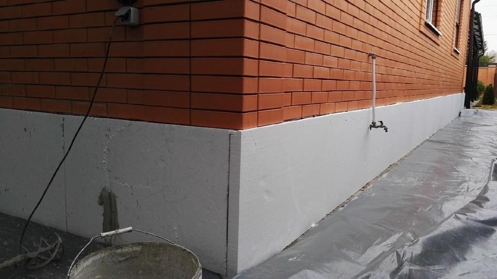 Применение теплоизоляционной краски «Броня фасад»